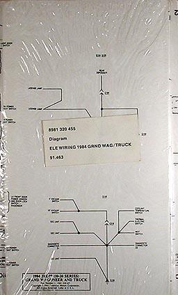 1984 Jeep Grand Wagoneer & JTruck Original Wiring Diagram