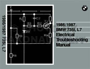 19861987 BMW 735i and L7 Electrical Troubleshooting