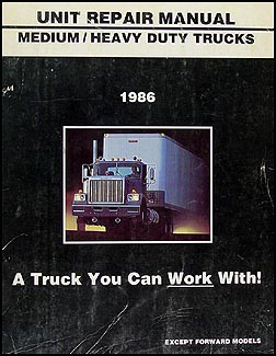 1986 Chevrolet and GMC Medium Duty C60 C70 Diesel Wiring Diagram Original C6000 C7000