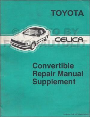 [WRG9424] 1995 Toyota Celica Part Diagram Wiring Schematic
