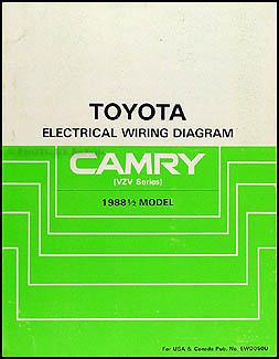 1988 Toyota Corolla AllTrac and Camry V6 AC Installation Manual Original