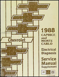 1988 Chevy Caprice Wiring Diagram Manual Classic