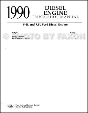 1990 Ford LSeries Wiring Diagram L8000 L9000 LT8000