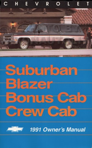 1991 Chevy Suburban Blazer RV Pickup Wiring Diagram