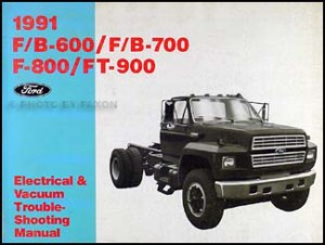 1991 Ford Medium and Heavy Duty Truck Service