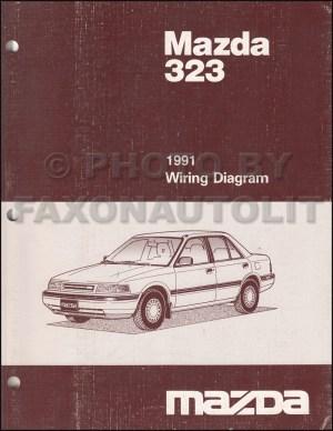 1991 Mazda 323 and Protege Repair Shop Manual Original