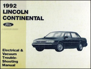 1992 Lincoln Continental Executive Series  bleasquepenmp3