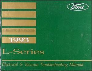 1993 Ford LSeries Wiring Diagram L8000 L9000 LT8000