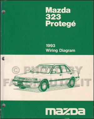 1993 Mazda 323 and Protege Repair Shop Manual Original