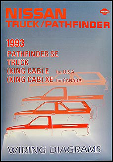 1993 Nissan Truck and Pathfinder Wiring Diagram Manual