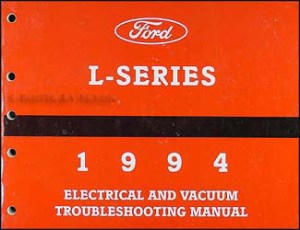 1994 Ford LSeries Foldout Wiring Diagram L8000 L9000