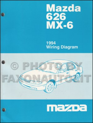 1994 Mazda 626 and MX6 Body Electrical Troubleshooting