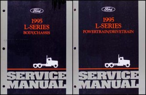 1995 Ford LSeries Foldout Wiring Diagram L8000 L9000