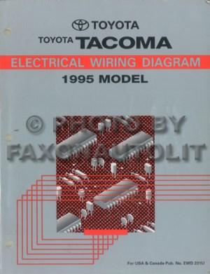 1995 Toyota Taa Pickup Wiring Diagram Manual Original