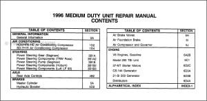 1996 ChevyGMC Topkick Kodiak B7 P6 Overhaul Manual Original
