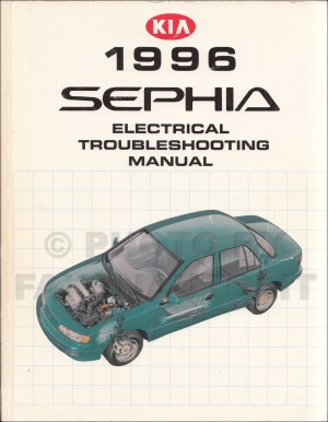1996 Kia Sephia Electrical Troubleshooting Manual Wiring