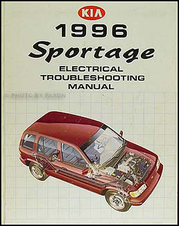 1996 Kia Sportage Electrical Troubleshooting Manual Wiring
