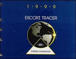 1999 Ford Escort Mercury Tracer Wiring Diagram Manual Electrical Original OEM | eBay