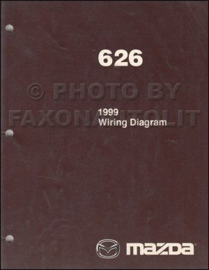 1999 Mazda 626 Repair Shop Manual Original