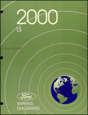 2000 Lincoln LS Electrical Wiring Diagram Manual OEM