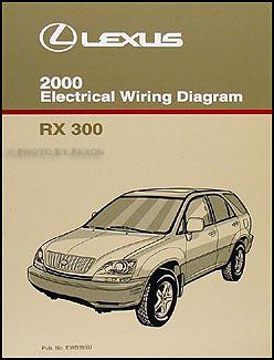 2000 Lexus RX 300 Owners Manual Original