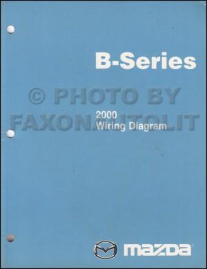 2000 Mazda BSeries Pickup Truck Wiring Diagram Manual