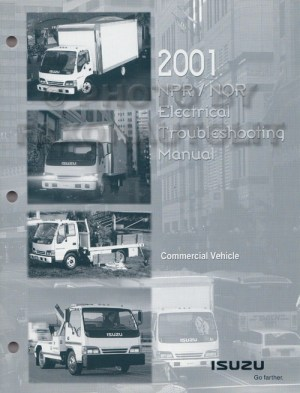 20012002 NPR NQR W3500 W4500 W5500 Electrical Troubleshooting Manual Orig