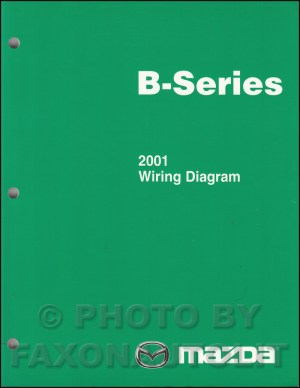 2001 Mazda BSeries Pickup Truck Wiring Diagram Manual