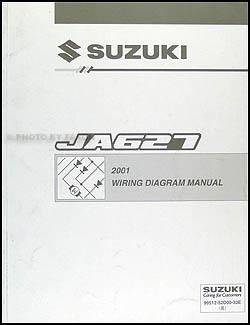 2001 Suzuki XL7 Wiring Diagram Original