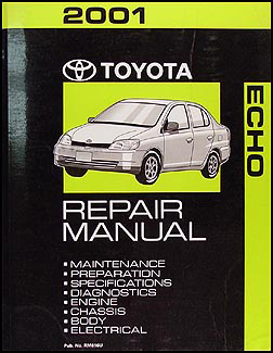 2001 Toyota Echo Wiring Diagram Manual Original