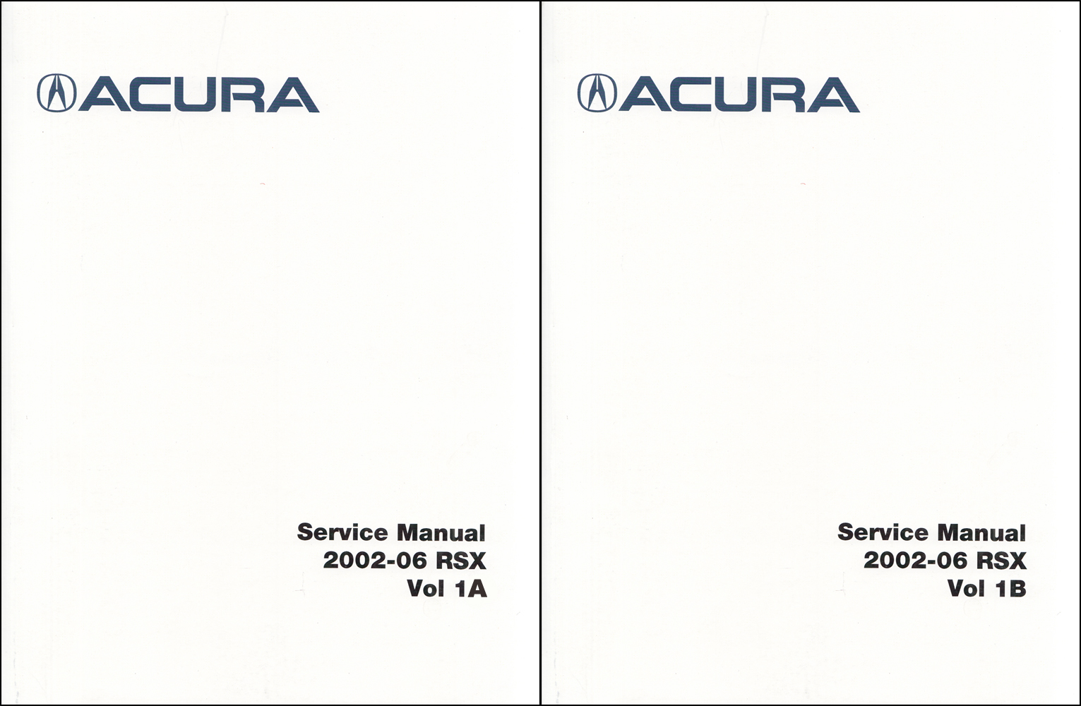 Acura Rsx Owners Manual Original