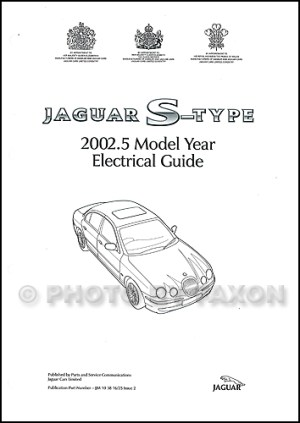 2002 Jaguar SType Electrical Guide Wiring Diagram