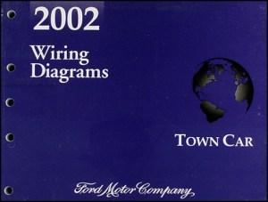 2002 Lincoln Town Car Original Wiring Diagrams