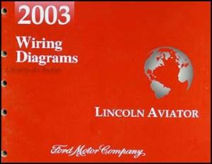 2003 Lincoln Aviator Wiring Diagram Manual Original