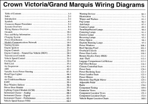 2003 Wiring Diagram Manual Crown Victoria Marauder Grand
