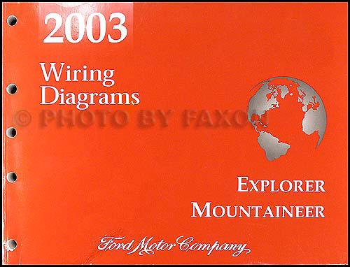 2003 Mountaineer And Explorer 4 Door Wiring Diagram Manual
