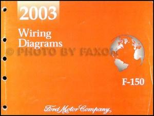 2003 Ford F150 Repair Shop Manual Original 2 Volume Set