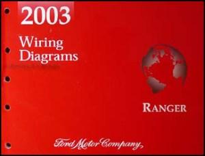 2003 Ford Ranger Original Wiring Diagram Manual Electrical