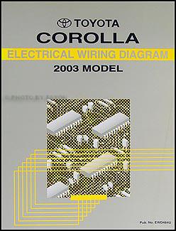 20032008 Toyota Corolla Body Collision Repair Shop Manual
