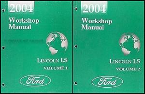 2004 Lincoln LS Wiring Diagram Manual Original