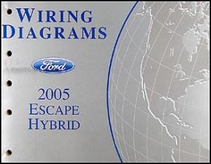 2005 Ford Escape Hybrid Wiring Diagram Manual Original