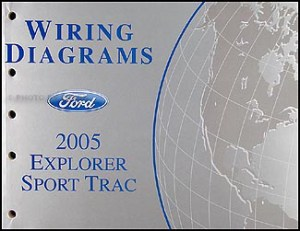 2005 Ford Explorer Sport Trac and Explorer Sport Wiring