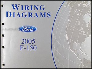 2005 Ford F150 Repair Shop Manual Original 2 Volume Set