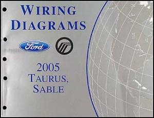 2005 Ford Taurus & Mercury Sable Wiring Diagrams Manual