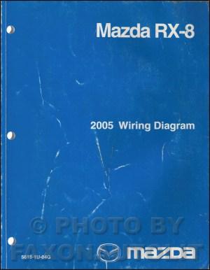 2005 Mazda RX8 Repair Shop Manual Original