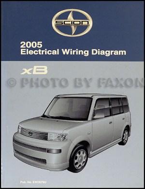 2005 Scion xB Wiring Diagram Manual Original