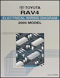 2005 Toyota RAV4 Wiring Diagram Manual Original
