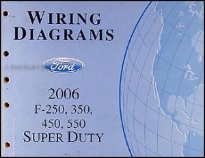 2006 Ford Super Duty F250550 Repair Shop Manual Original