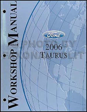 20062007 Ford Taurus Wiring Diagrams Manual Original
