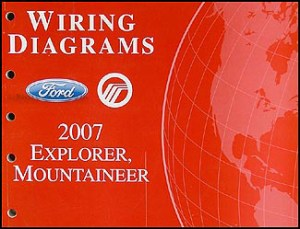 2007 Ford Explorer Mercury Mountaineer Wiring Diagram